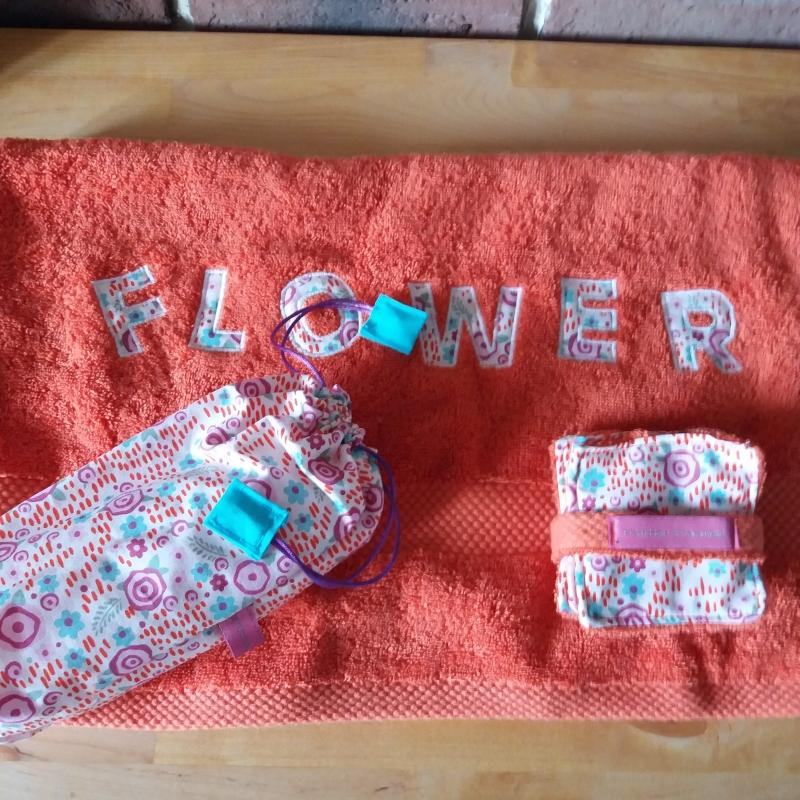 Beauty Box flower - coffret toilette - photo détail